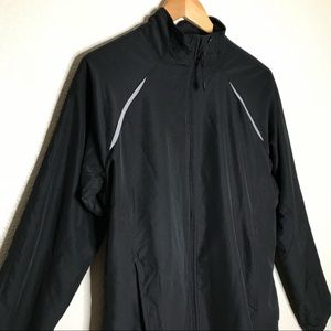 Adidas Running Track Jacket with Back Vents